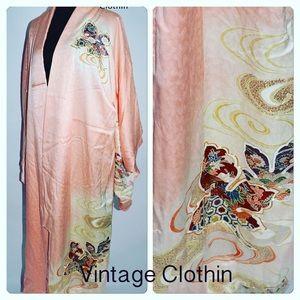 Vintage c1940s Japanese Kimono